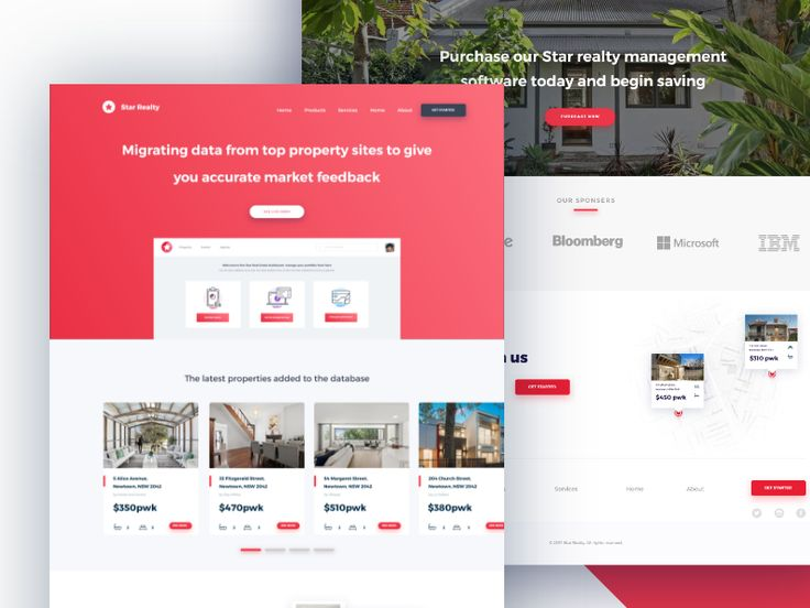 Star Realty Landing page by Monty Hayton