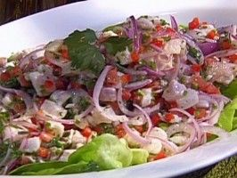 Honduran Ceviche De Corvina from CookingChannelTV.com