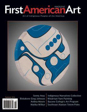 First American Art Magazine Issue No. 3, Summer 2014, cover art by Sonny Assu (Ligwilda'xw Kwakwaka'wakw)