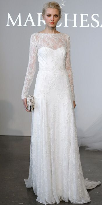 Marchesa Spring 2015 Bridal Collection - Marchesa from #InStyle