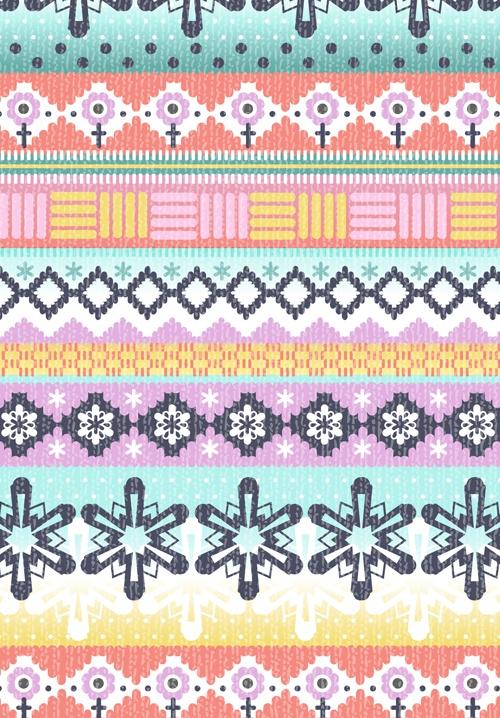 140 best Mønster border images on Pinterest   Knitting stitches ...