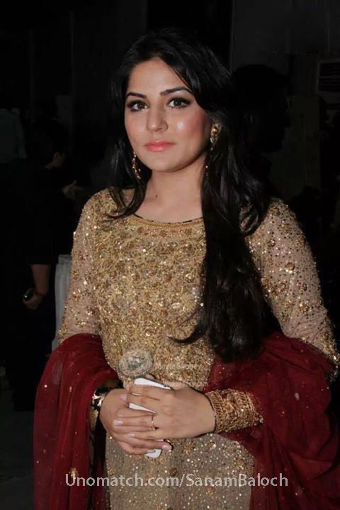 Sanam Baloch She Is Pakistani Actress And Host ...