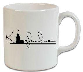 Kız Kulesi Kupa - Şu An Sadece 16,90 TL! Online Siparişe Özel Tasarımlar, Mağazalarda Yok! - Kapıda Ödeme - Süper Baskı ve Penye Kalitesi