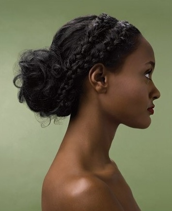 Astounding 1000 Images About Coiffure On Pinterest Protective Styles Buns Short Hairstyles Gunalazisus