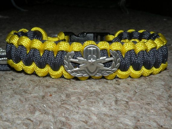 US Navy EOD Explosive Ordnance Disposal Bracelet by TheAGOGE, $15.00