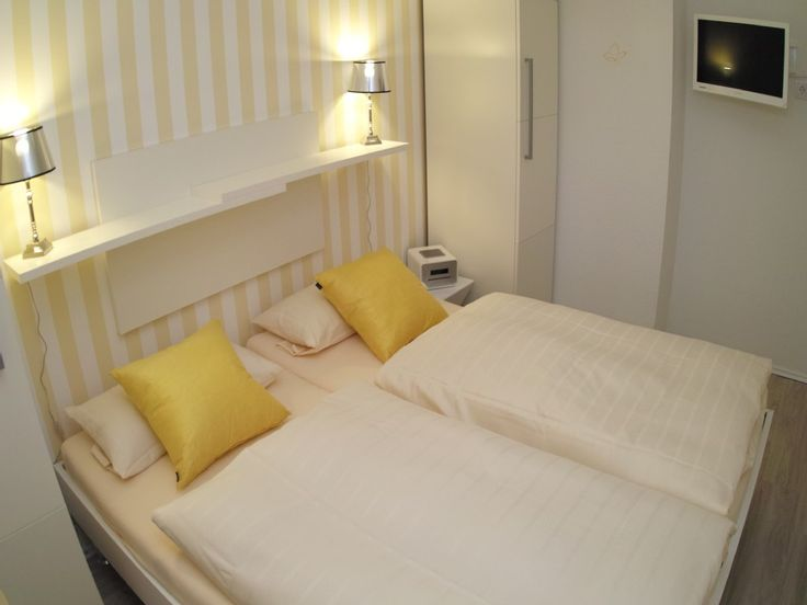Die besten 25+ Schlafzimmer mit doppelbett Ideen auf Pinterest - norderney ferienwohnung 2 schlafzimmer