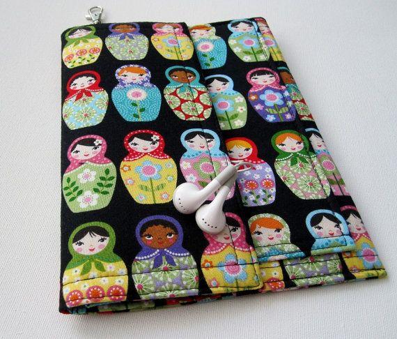Tablet Keeper Mini in Matryoshka for iPad Mini Nexus by rockitbot, $49.00