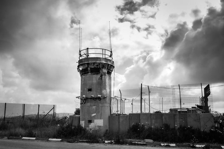 Ramallah Checkpoint Tower, Ramallah by Katie Archibald-Woodward