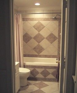 Small Bathroom Tile Designs Full Half With Balance Border 249x300 Small  Bathroom Tile Designs Full Half