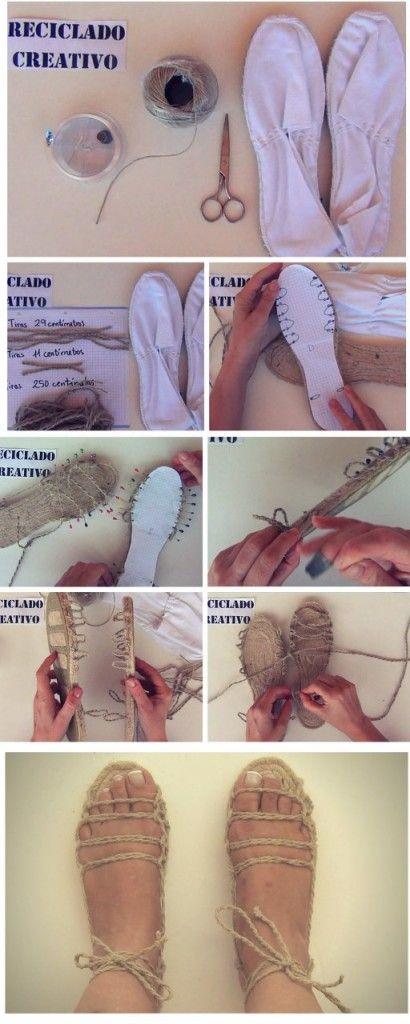 Cómo hacer 20 sandalias con una sola suela https://www.youtube.com/watch?v=bsBUfVHcSQ8