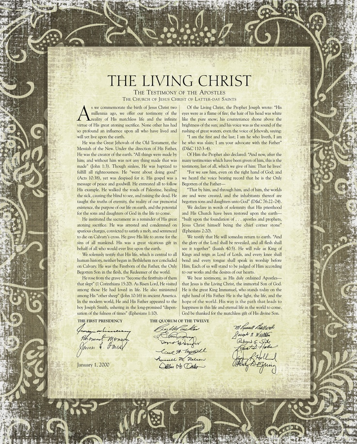 It is an image of Unusual The Living Christ Printable
