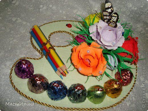 Свит-дизайн День учителя Моделирование конструирование Подарки учителям фото 1
