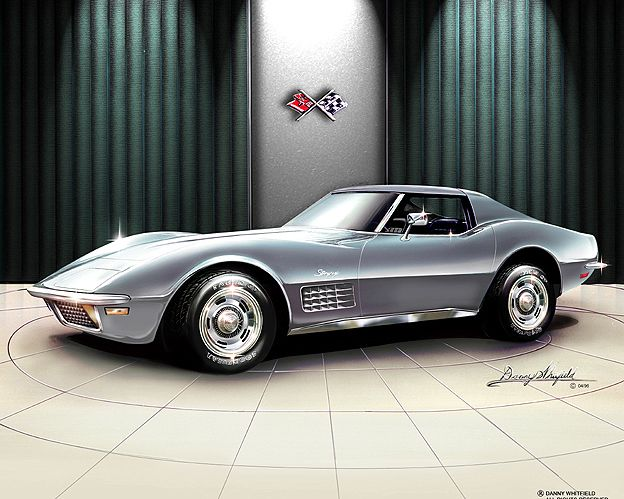 1970 Stingray Corvette...we had one of these only with a rag top....loved it!