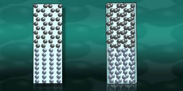 Iron springs back to shape under pressure | Lawrence Livermore National Laboratory