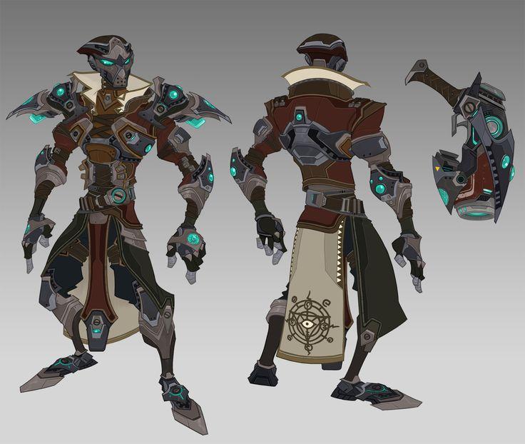 Raid Armor Concepts, Johnson Truong on ArtStation at https://www.artstation.com/artwork/nW2J1