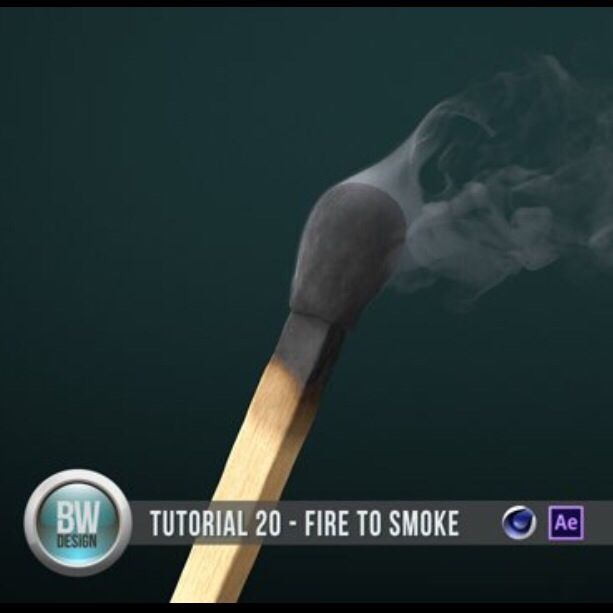 Turn A Match From Fire To Smoke In Cinema 4D - Motion And Design