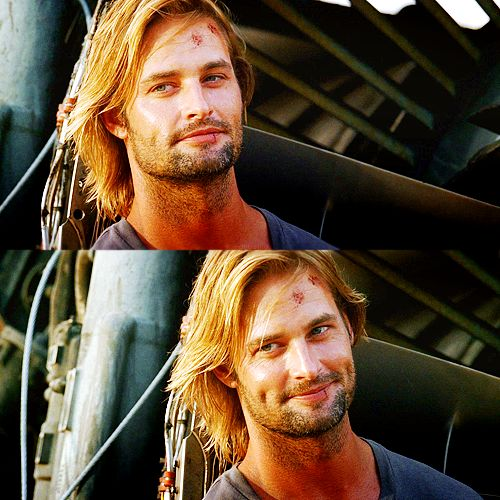 This look... #Lost #Sawyer