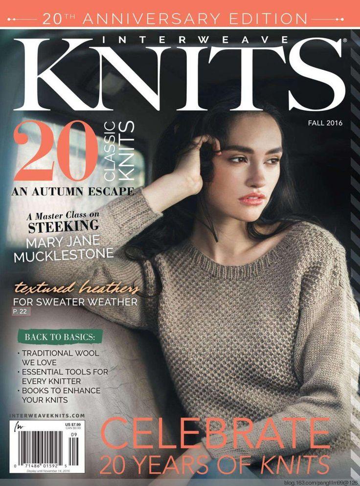 Interweave Knits 2016 fall