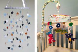 20 móbiles para o quarto do bebê que você pode fazer em casa!