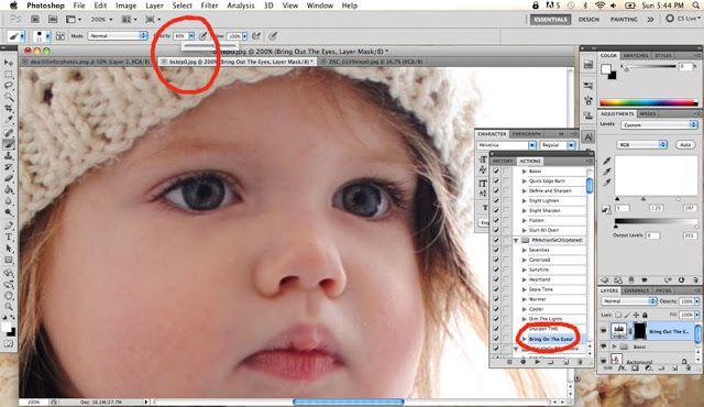 Photoshop tutorial.