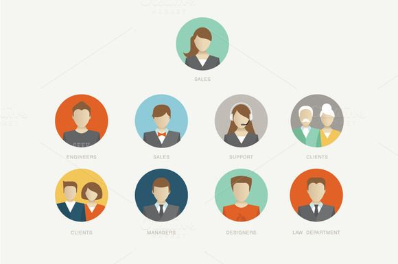 Check out Vector Company avatars by vectorprro on Creative Market