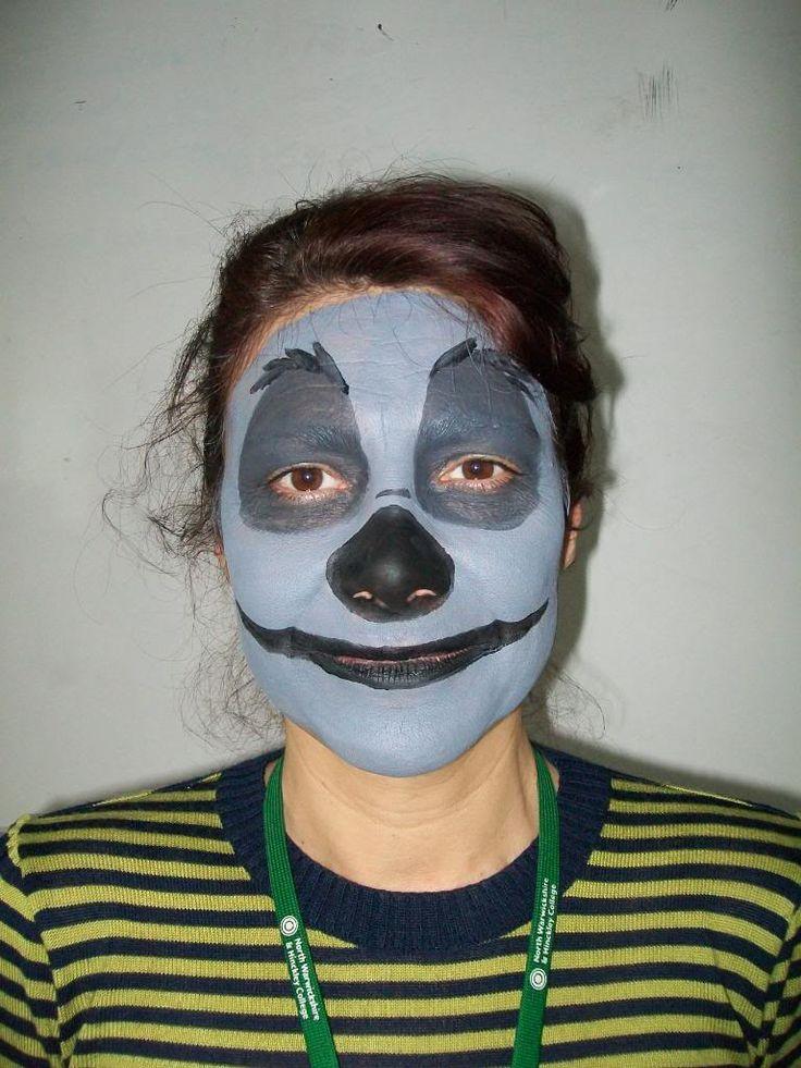 Hyena Face Paint Lion King Musical