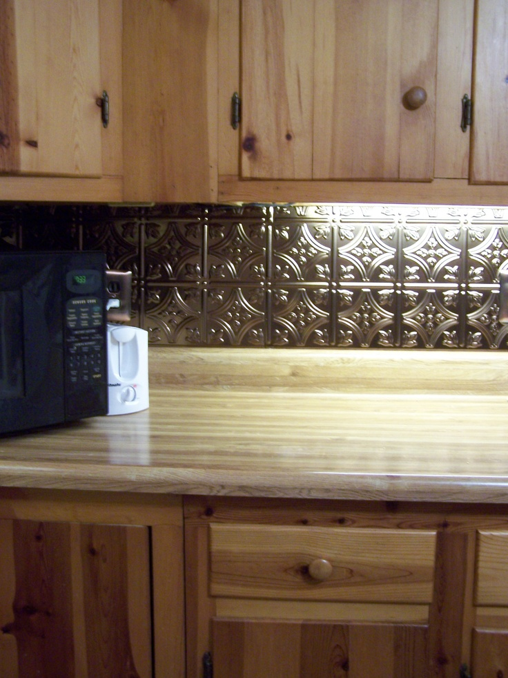 Update Kitchen Backsplash With The New Thermoplastic Sheets Easy Fit Cut And