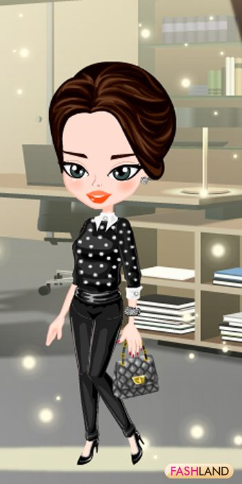 #fashland #fashion #passionforfashion #business #office #preppy #masculine #work #greyeyes #brunette #bling #beauty #beautiful #dressup #gamegos #onlinegames #gaming