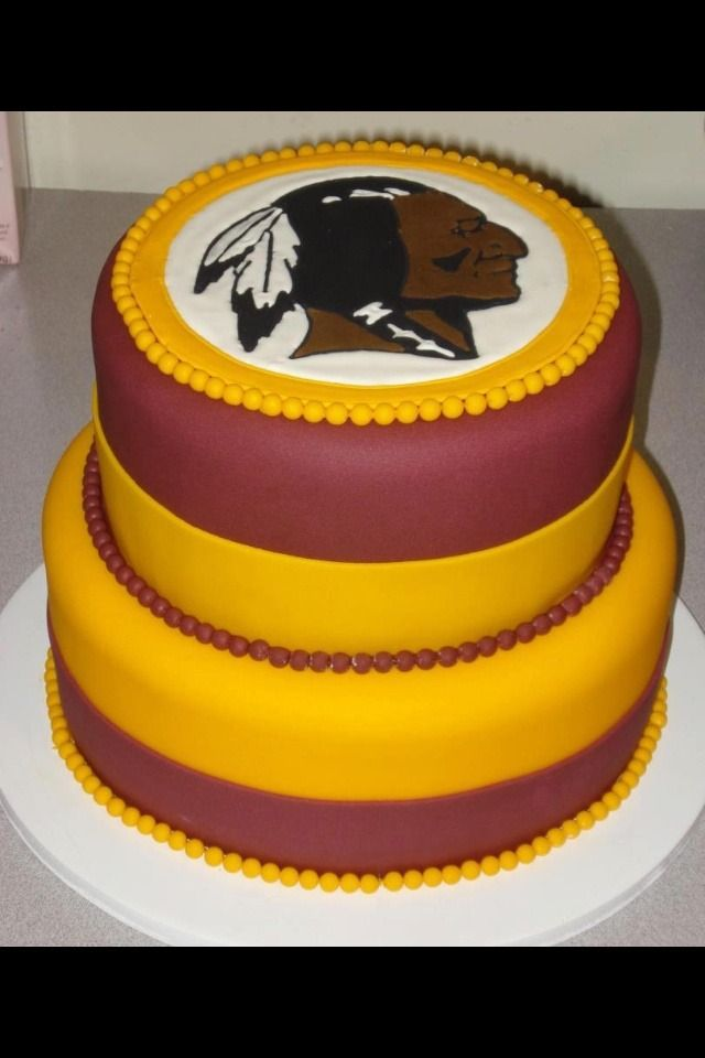 Great birthday cake for any #Redskins fan!