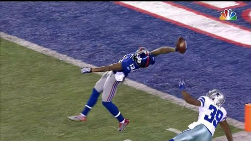 Bend it like Beckham! Odell Beckham, Jr.  The new Catch!