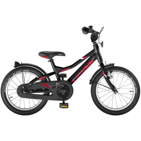 "Bicicleta Niño PUKY ZLX ALU 16"" Negro"