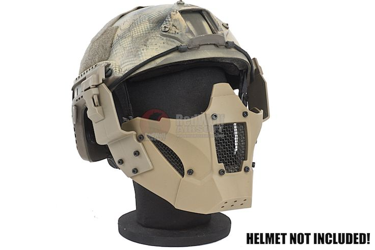 Buy Airsoft TMC-Combat Gear-Masks & Glasses-TMC JAY FAST Mask - Khaki