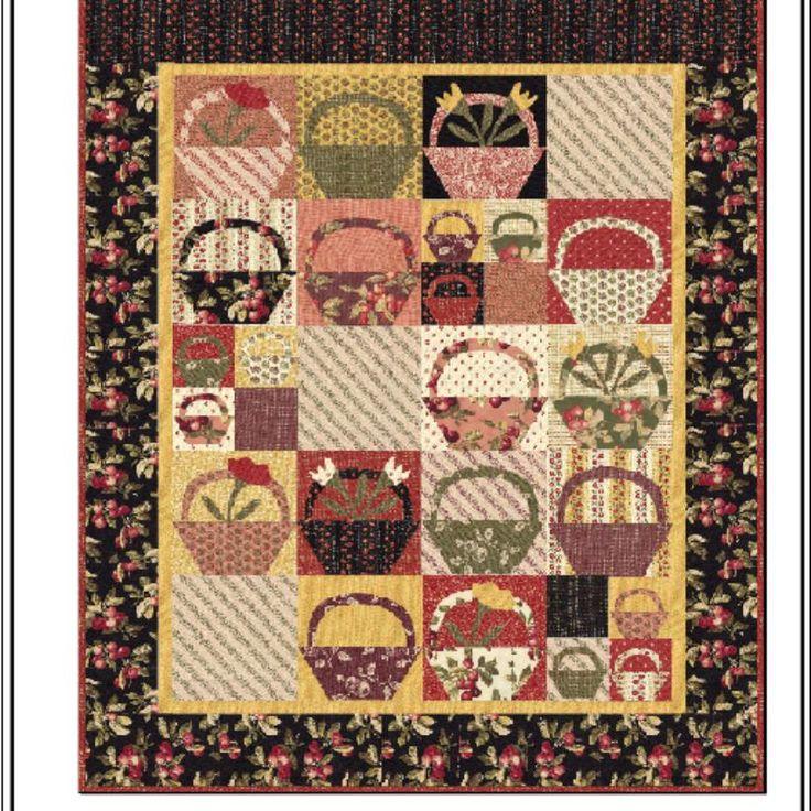 560 best 2-Primitive Quilts images on Pinterest   Patchwork ... : basket quilts - Adamdwight.com
