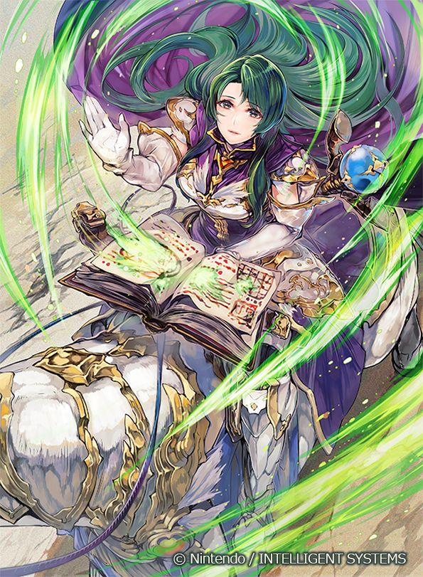 Ilustraciones completas - Cecilia - Artworks e imágenes - Galería Fire Emblem Wars Of Dragons
