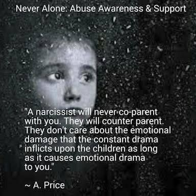 My ex-husband taught my daughter so many bad behaviors on how to deal with adversity and criticism. A child who witnesses their parent alienating their other siblings or family members will grow up to do the same to other family members at the first sign of any adversity; just cut someone right out of the family unless they follow your rules. That is what this entitled generation of grown children does to family members who dare to disagree; they are just gone; cut off; good riddance! SL