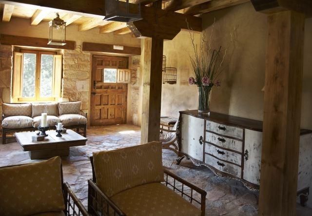 Salón Clientes / Living Room - Alojamiento LaBalbina / Guest House