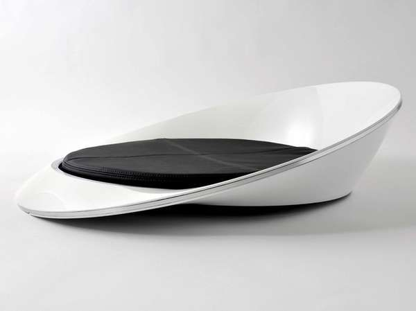 OnO Chair via: kataokadesign, whitezine, futuristic furniture, modern design, futuristic sofa.