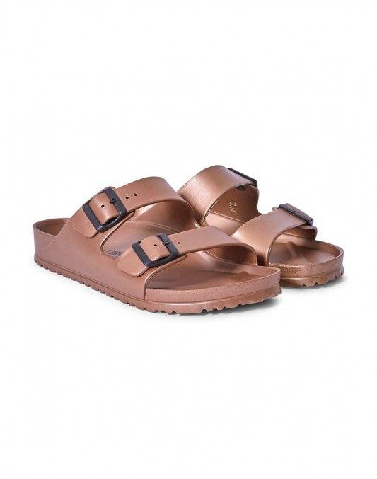 00f3fc56675 Birkenstock EVA Arizona Sandal Metallic Copper