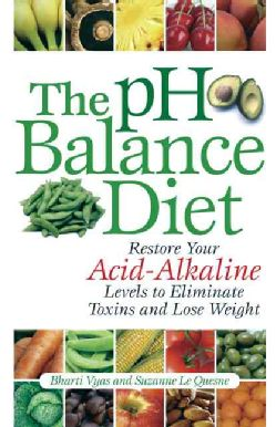 The Ph Balance Diet: Restore Your Acid-Alkaline Levels to Eliminate Toxins and Lose Weight.  Another good resource for those working to achieve acid/alkaline in their diet!