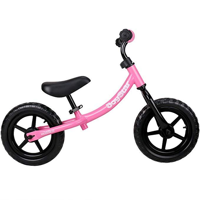 Joystar Adjustable Balance Bike With Low Frame For Toddler 1 5 5 Years Old Training Bike With Air Free Tire For Child 12 Balance Bike Toddler Bike Kids Bike