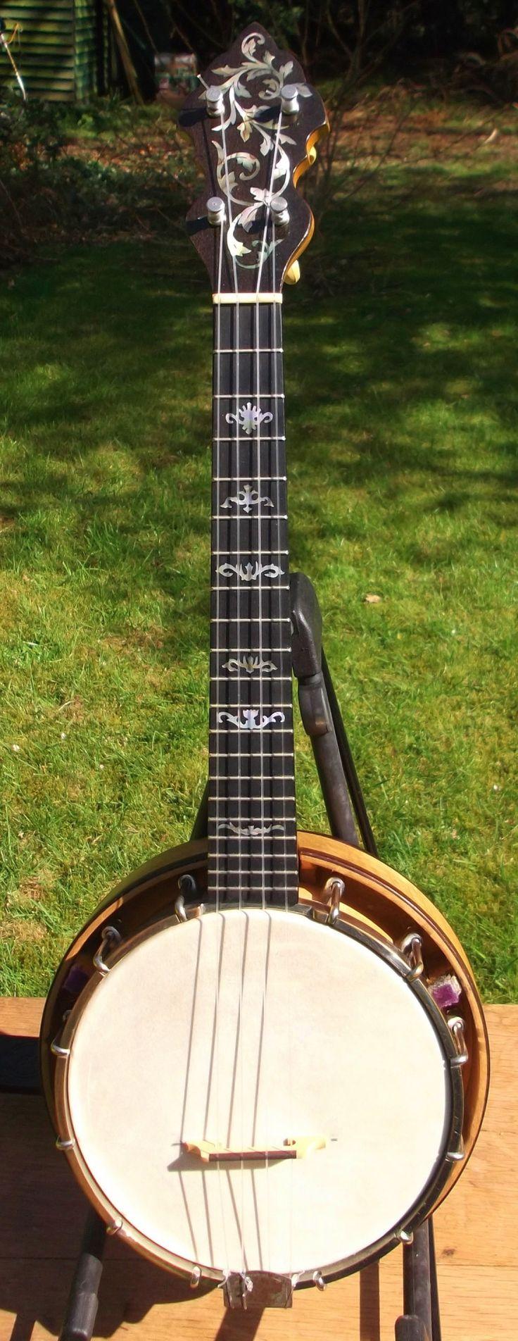 Weymann 225 Deluxe Banjo Ukulele --- https://www.pinterest.com/lardyfatboy/