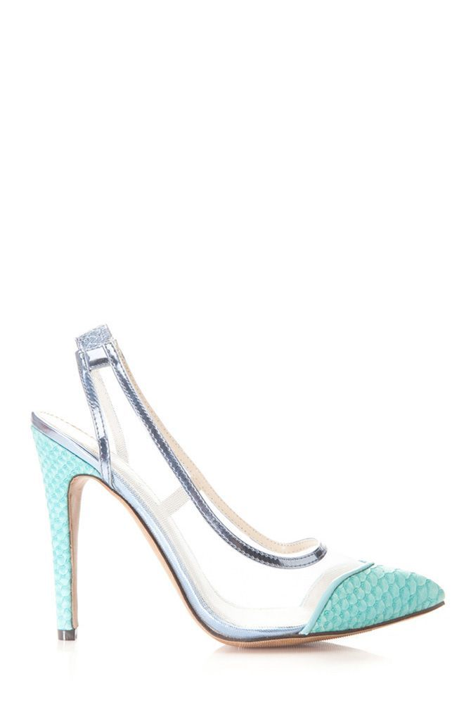 """Women's Fashion High Heels :    Gotta love a very #mermaid feel with these """"Faux Reptile Skin Mesh Heels"""" PERFECT for summer! Check it out on www.cicihot.com for more fun summer heels, wedges, and sandals! #CiCihot #fashion #fashionista #love #mermaid #shoes #heels #teal... - #HighHeels https://youfashion.net/shoes/high-heels/trendy-womens-high-heels-gotta-love-a-very-mermaid-feel-with-these-faux-reptile-skin-mesh-heels-perfec/"""