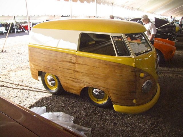 1960 Vw Mid Engine Bus Chopped And Shortened Little