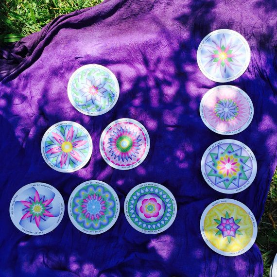 Ascension Reading with Mandala Oracle Cards by AngelsandTarot