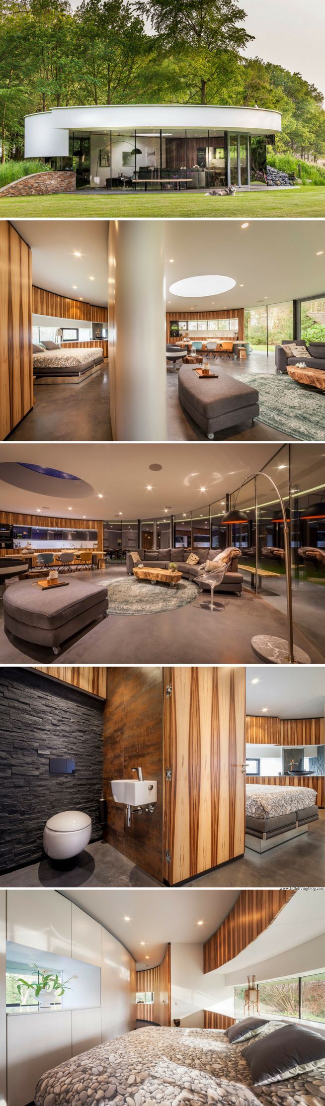 The 360 Villa: a 915 sq ft home in the Netherlands