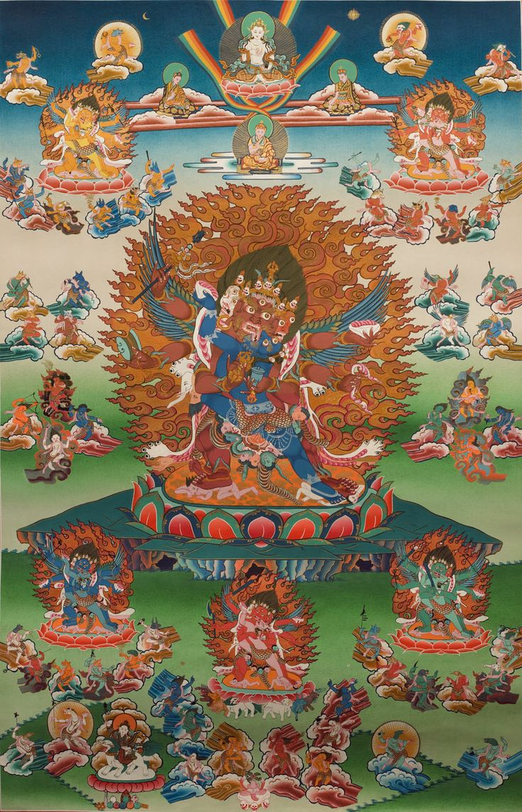 Examples List on Tibetan Buddhism