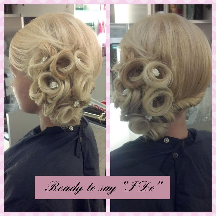 "Fabulous up do for when you say ""I Do"" from Amp Blo Bar inside #ThePalms in #Vegas"