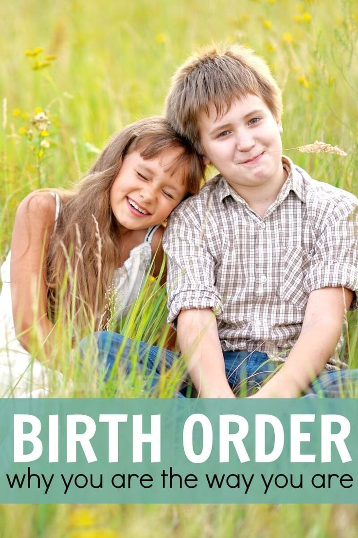 Thoughts on birth order, how it affects your kids, the family dynamic, and just super interesting stuff!