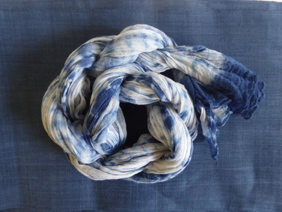 Hey, I found this really awesome Etsy listing at https://www.etsy.com/au/listing/245334698/shibori-scarf-shawl-scarf-baby-swadle