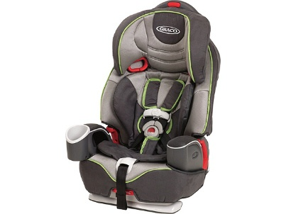 Graco Nautilus 3-in-1 Car Seat -  A car seat that actually grows with your child (it accommodates kids up to 100 pounds) #babycenterknowsgear